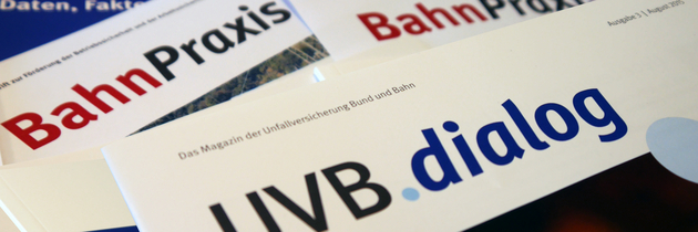 Publikationen der Unfallversicherung Bund und Bahn