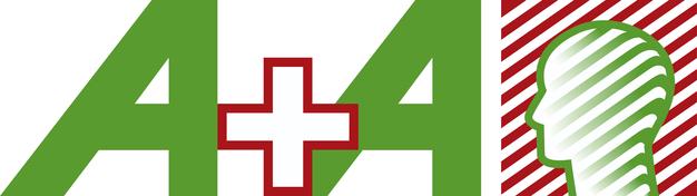 Logo der A+A 2015