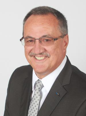 Vlatko Stark (EVG), alternierender Vorsitzender der Vertreterversammlung der UVB