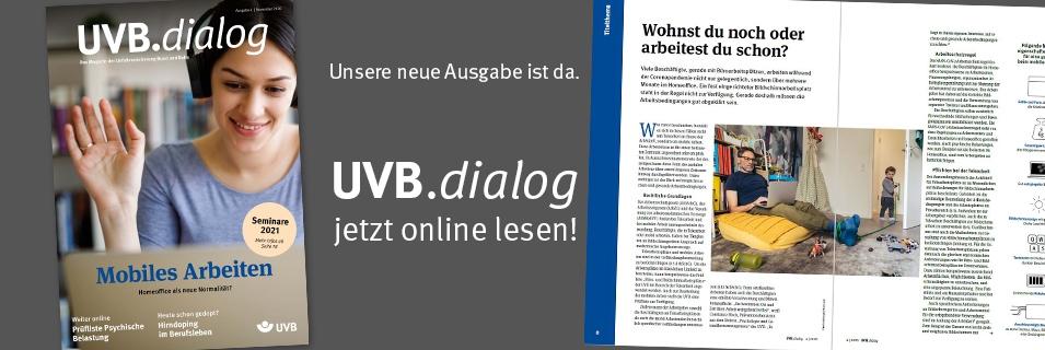 UVB.<i>dialog</i> 4/2020