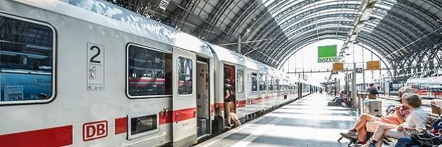 Deutsche Bahn Bahnsteig